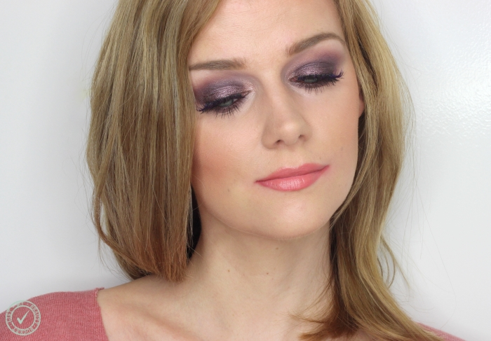 purple smoky eyes makeup