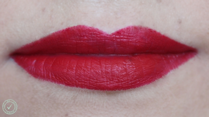 Rimmel The Only One Matte Take the Stage 500 swatch